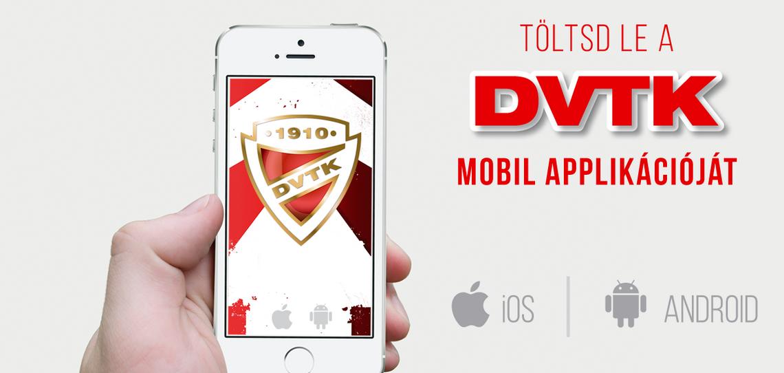 Töltsd le a DVTK applikációját!