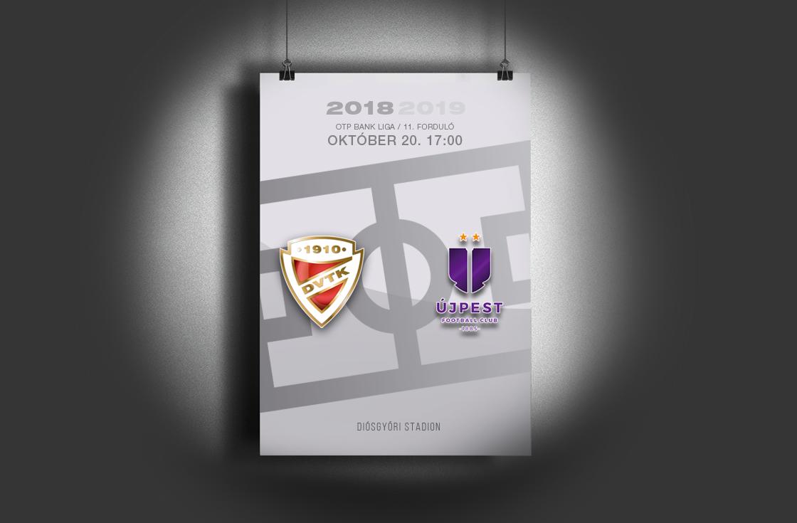 DVTK - Újpest 1-2 (0-0)