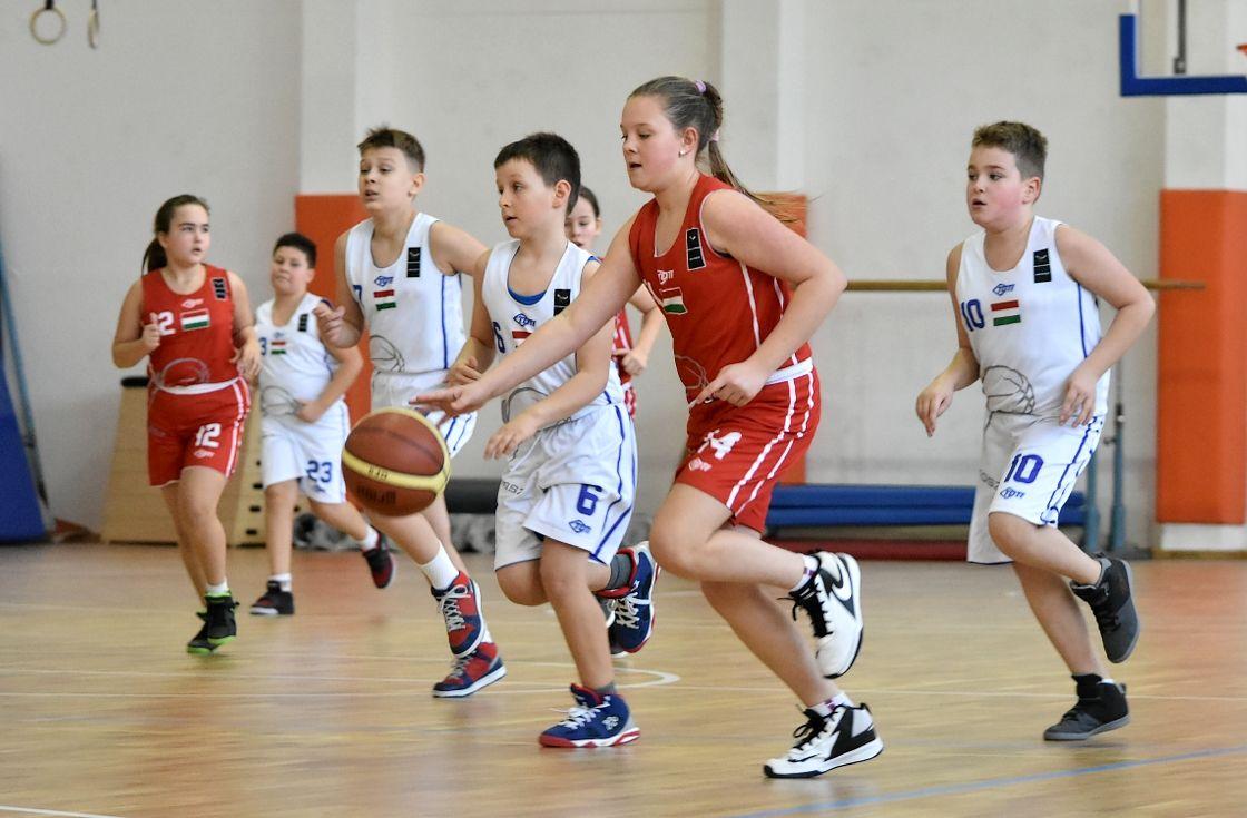 Pályán az utánpótlás - kosárlabda