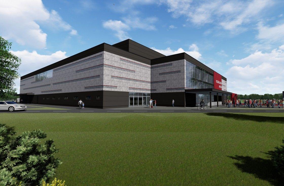 Új multifunkciós sportcsarnok épül Diósgyőrben
